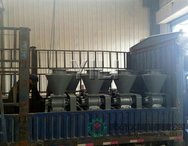 新型气力输送设备发往内蒙古包头市
