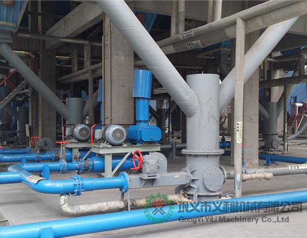 武汉客户购买气力输送料封泵现场