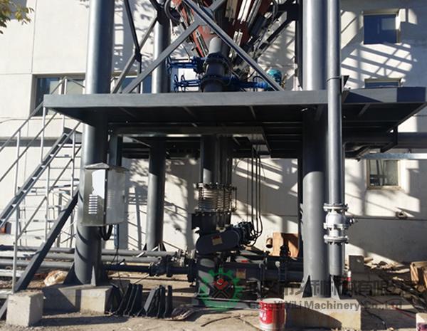 延吉市客户脱硫系统用气力喷射泵设备现场